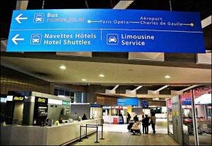 Airport transfers Paris